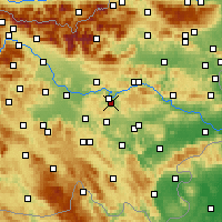 Nearby Forecast Locations - Šmartno pri Litiji - Map