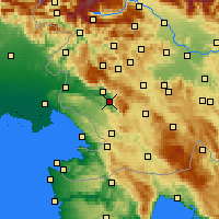 Nearby Forecast Locations - Vipava - Map
