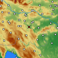 Nearby Forecast Locations - Žužemberk - Map