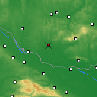 Nearby Forecast Locations - Szigetvár - Map