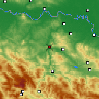 Nearby Forecast Locations - Doboj - Map