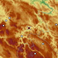 Nearby Forecast Locations - Goražde - Map