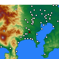 Nearby Forecast Locations - Yamato - Map