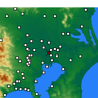 Nearby Forecast Locations - Misato - Map