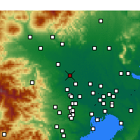 Nearby Forecast Locations - Kōnosu - Map