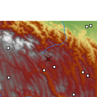 Nearby Forecast Locations - Comarapa - Map