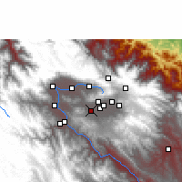 Nearby Forecast Locations - Tarata - Map