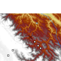 Nearby Forecast Locations - Coroico - Map