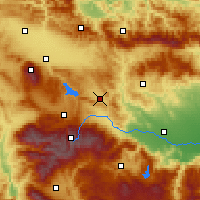 Nearby Forecast Locations - Ihtiman - Map