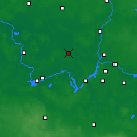 Nearby Forecast Locations - Nauen - Map