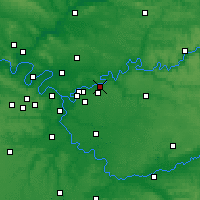 Nearby Forecast Locations - Lagny-sur-Marne - Map