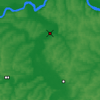 Nearby Forecast Locations - Yadrin - Map