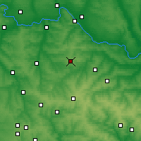 Nearby Forecast Locations - Popasna - Map