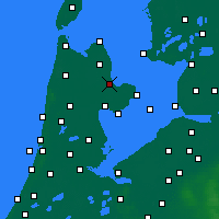 Nearby Forecast Locations - Medemblik - Map