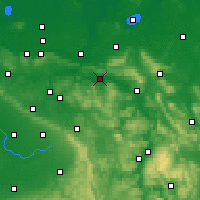 Nearby Forecast Locations - Rinteln - Map