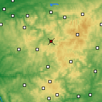 Nearby Forecast Locations - Lennestadt - Map