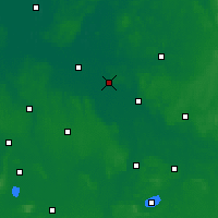 Nearby Forecast Locations - Achim - Map