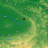 Nearby Forecast Locations - Schloß Holte-Stukenbrock - Map