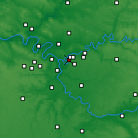 Nearby Forecast Locations - Villiers-sur-Marne - Map
