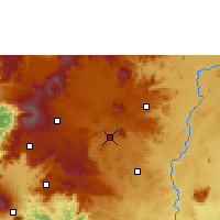 Nearby Forecast Locations - Foumbot - Map
