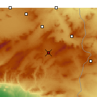 Nearby Forecast Locations - Cheria - Map