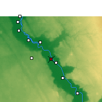 Nearby Forecast Locations - Abu Tig - Map