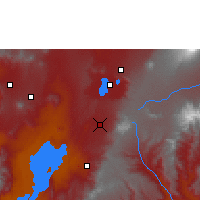 Nearby Forecast Locations - Irgalem - Map