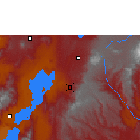 Nearby Forecast Locations - Dila - Map