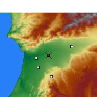 Nearby Forecast Locations - Oulad Teima - Map