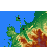 Nearby Forecast Locations - Ambanja - Map