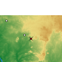 Nearby Forecast Locations - Suleja - Map