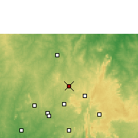 Nearby Forecast Locations - Offa - Map