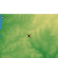 Nearby Forecast Locations - Kontagora - Map