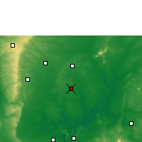 Nearby Forecast Locations - Isieke - Map