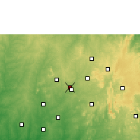 Nearby Forecast Locations - Ilobu - Map
