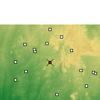 Nearby Forecast Locations - Ilesa - Map