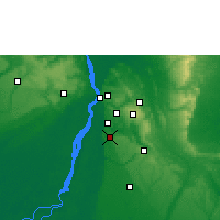 Nearby Forecast Locations - Ihiala - Map