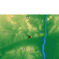 Nearby Forecast Locations - Auchi - Map