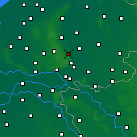 Nearby Forecast Locations - Eerbeek - Map