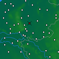 Nearby Forecast Locations - Zutphen - Map
