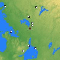 Nearby Forecast Locations - Gravenhurst - Map