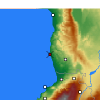 Nearby Forecast Locations - Tartus - Map