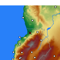 Nearby Forecast Locations - Halba - Map