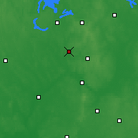 Nearby Forecast Locations - Kolno - Map