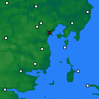Nearby Forecast Locations - Egå - Map