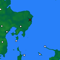 Nearby Forecast Locations - Grenå - Map