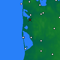 Nearby Forecast Locations - Ulfborg - Map