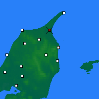 Nearby Forecast Locations - Ålbæk - Map