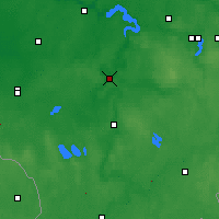 Nearby Forecast Locations - Birštonas - Map