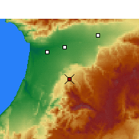 Nearby Forecast Locations - Ait Baha - Map